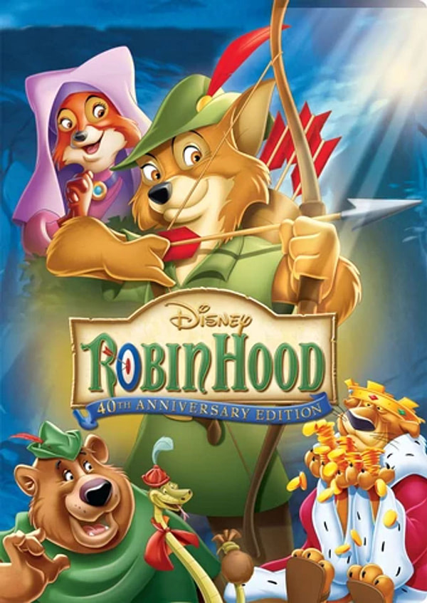 Disney produit un remake live action / cgi de Robin Hood pour Disney +.
