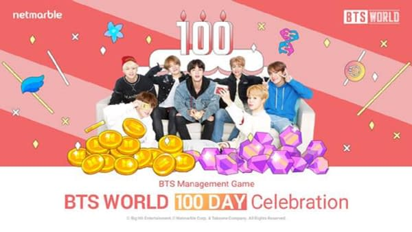 """""""BTS World"""" Launches A 100 Day Celebration"""