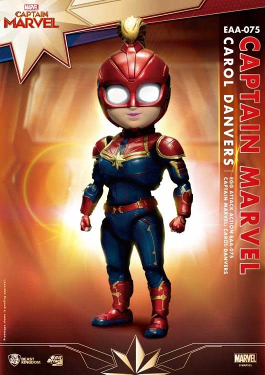 Beast Kingdom Captain Marvel Egg Attack Previews Exclusive 2