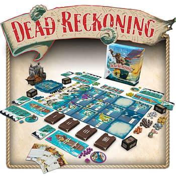 Dead Reckoning, A Pirate Adventure Tabletop Game, On Kickstarter