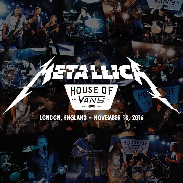 Metallica heads to London for tonight's Metallica Mondays set.