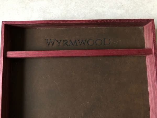 Review: Wyrmwood Purpleheart Dice Tray and Dice Vault