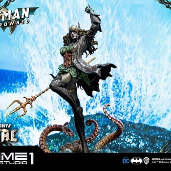 Gender Swapped Batman Rises From the Ocean with Prime 1 Studios Statue