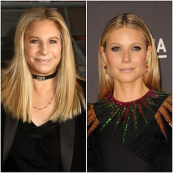 Gwyneth Paltrow and Barbra Streisand