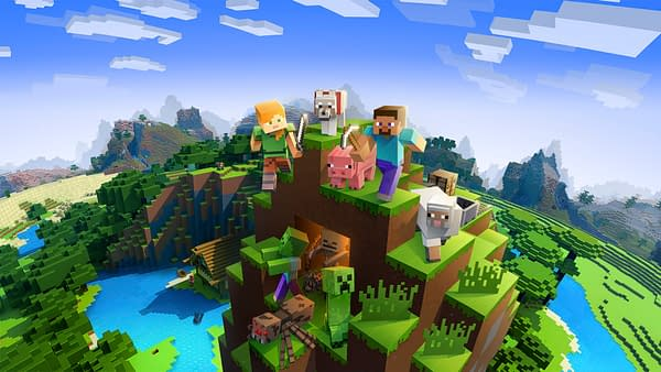 Minecraft Earth is getting a new series of blind box figures, courtesy of Mojang.