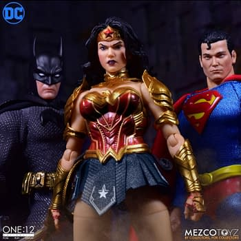 Wonder Woman is Battle Ready with New One: 12 Mezco Toyz Figure