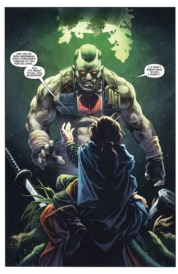 Harbinger Wars II #3 art by Tomas Giorello and Diego Rodriguez