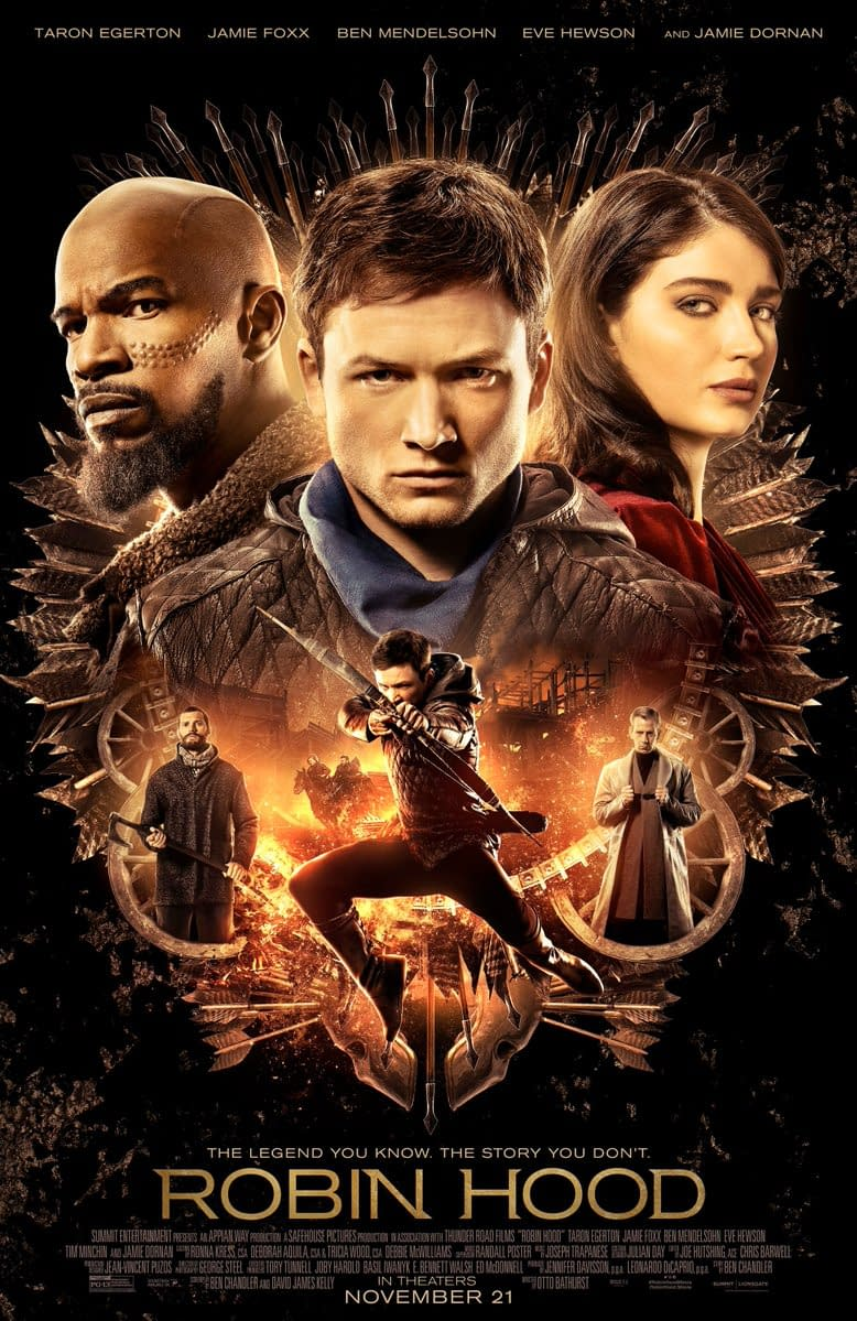 Lionsgate Releases the Final Poster for Robin Hood