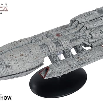 Battlestar Galactica Ships Get Collectible Statues from Eaglemoss