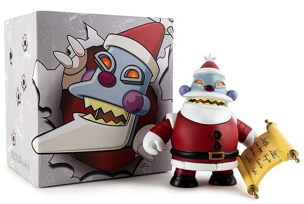 Futurama Kid Robot Robot Santa 4
