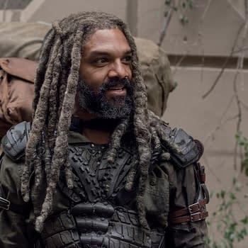 Khary Payton as Ezekiel - The Walking Dead _ Season 10, Episode 14 - Photo Credit: Jace Downs/AMC