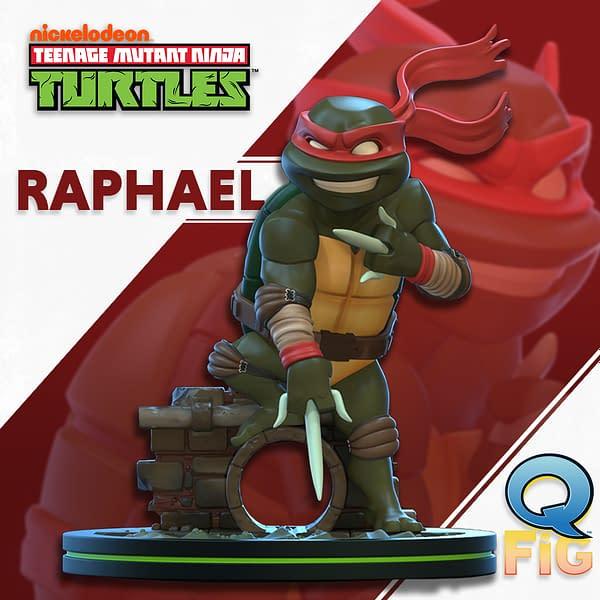 TMNT Q-Figs Coming From Quantum Mechanix: Raphael!