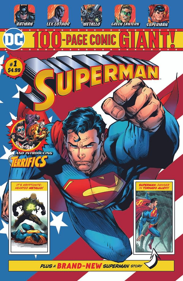 Exclusive Walmart Deal For 100-Page Monthly DC Comics Anthologies With Brian Bendis' Batman and Tom King's Superman