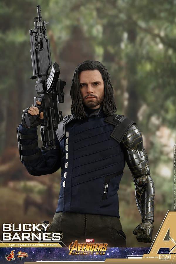 Bucky Barnes Infinity War Hot Toys 1