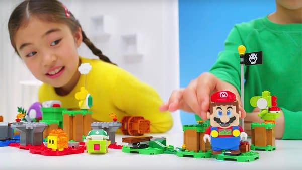 "LEGO ""Super Mario"" Set May Revolutionize Tabletop Gaming"