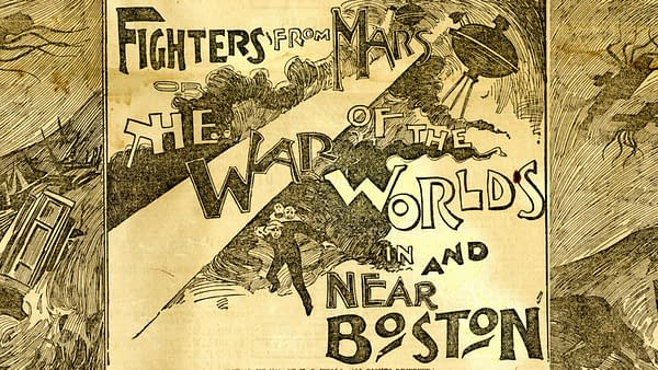 Fighters from Mars by H.G. Wells