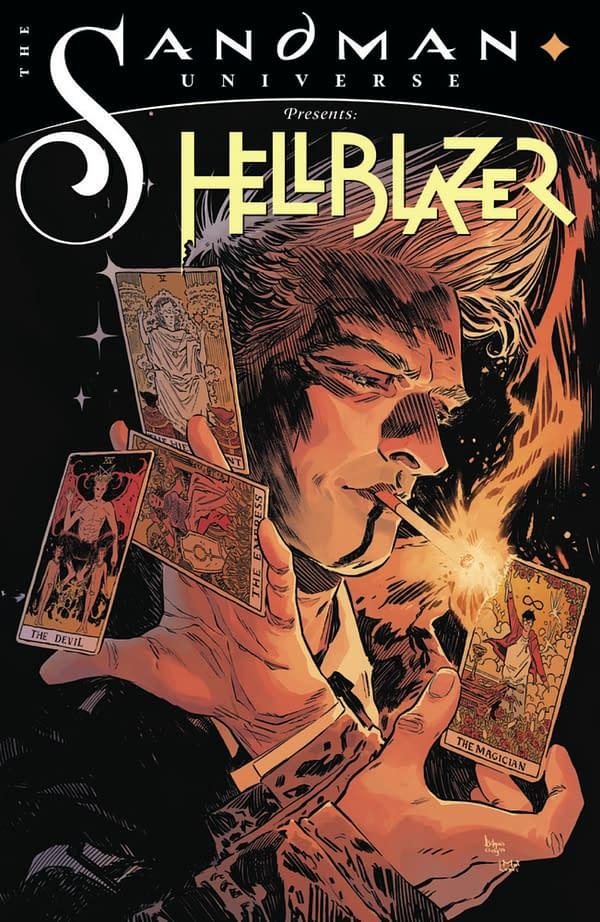 Hellblazer Joins Sandman Universe in October