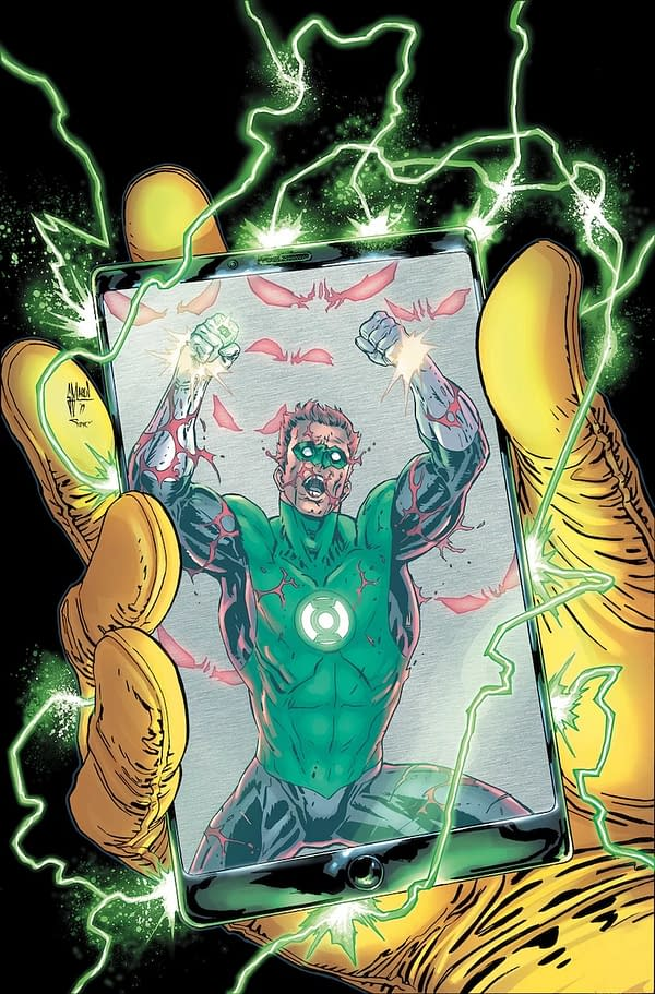Hal Forced to Chose Between Annoying Sidekick or Armageddon in Green Lantern Annual