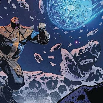Thanos #14 cover by Geoff Shaw and Antonio Fabela