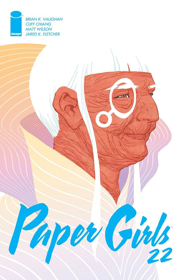 Paper Girls #22 cover by Cliff Chiang
