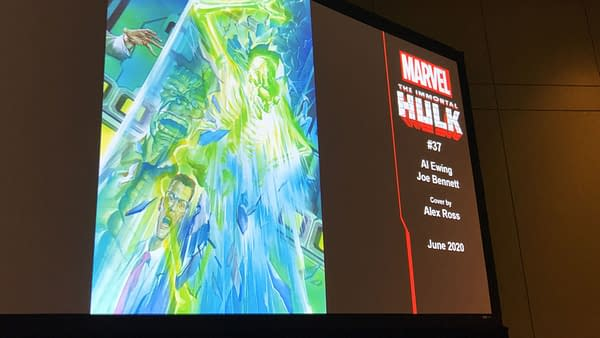 Marvel Plans to Make Readers Vomit with Immortal Hulk #33... Before a Relaunch After #36?