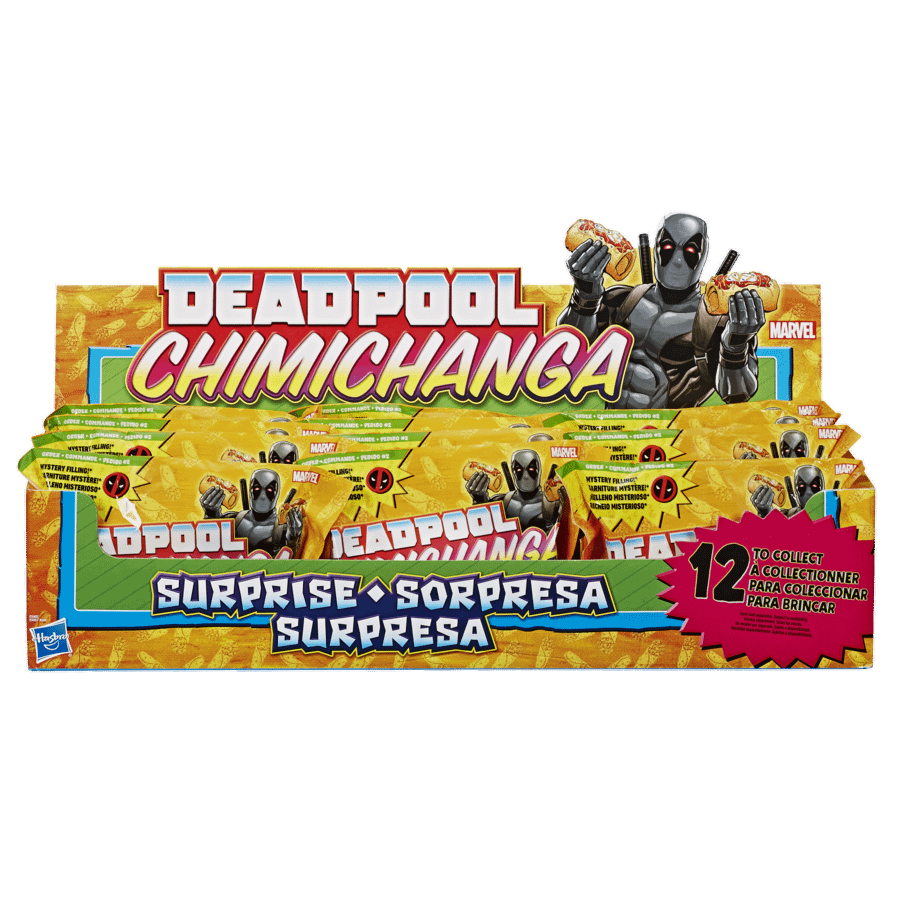 Marvel Legends Deadpool Chimchanga Mystery Figures Wave 2 1