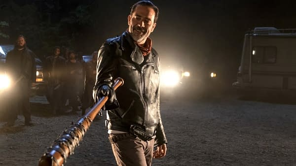 Please allow Negan to retort on The Walking Dead, courtesy of AMC.