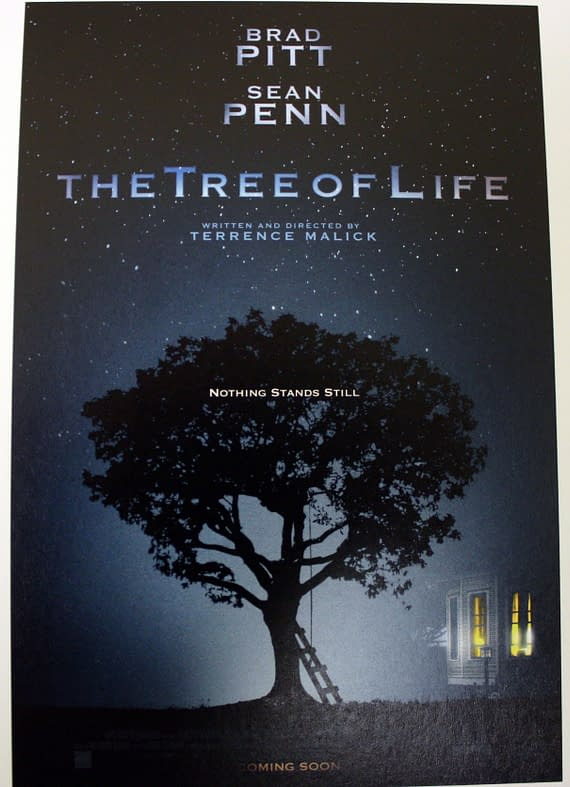 Terrence Malick's Tree Of Life Gets A Nice Poster And A Horrendous Blurb