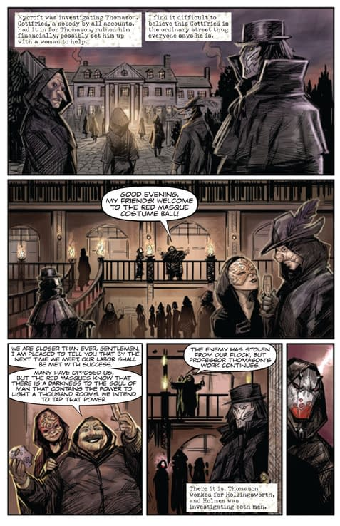 Moriarty #1 From Image – Orders Due On Monday