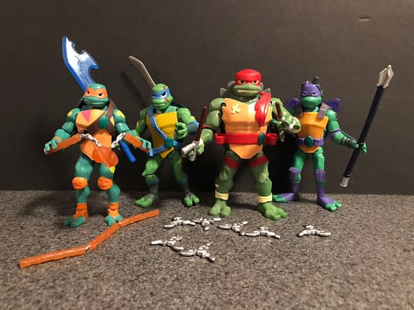 Rise of the TMNT Playmates Figures 8