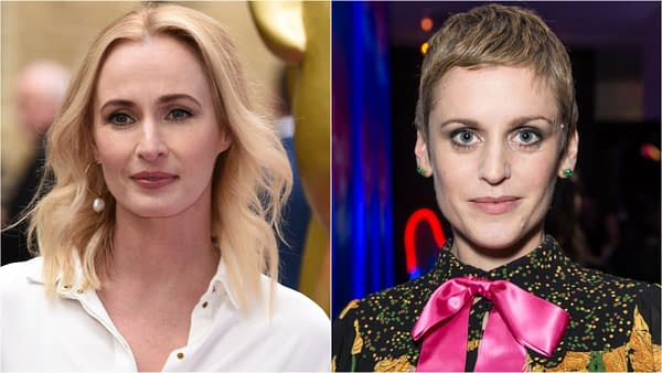 Genevieve O'Reilly and Denise Gough are reportedly joining Disney+'s Rogue One spinoff series, courtesy Shutterstock.com, Featureflash Photo Agency, and lev radin.