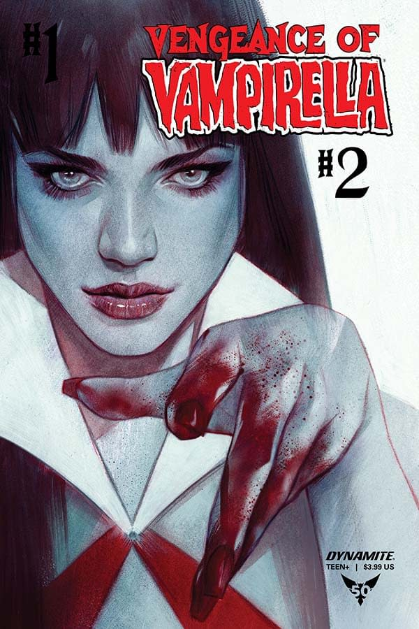 Vengeance of Vampirella Covers The Spice Girls' #2 Become #1...