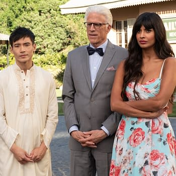 """The Good Place"" Season 4 ""A Girl From Arizona"":"