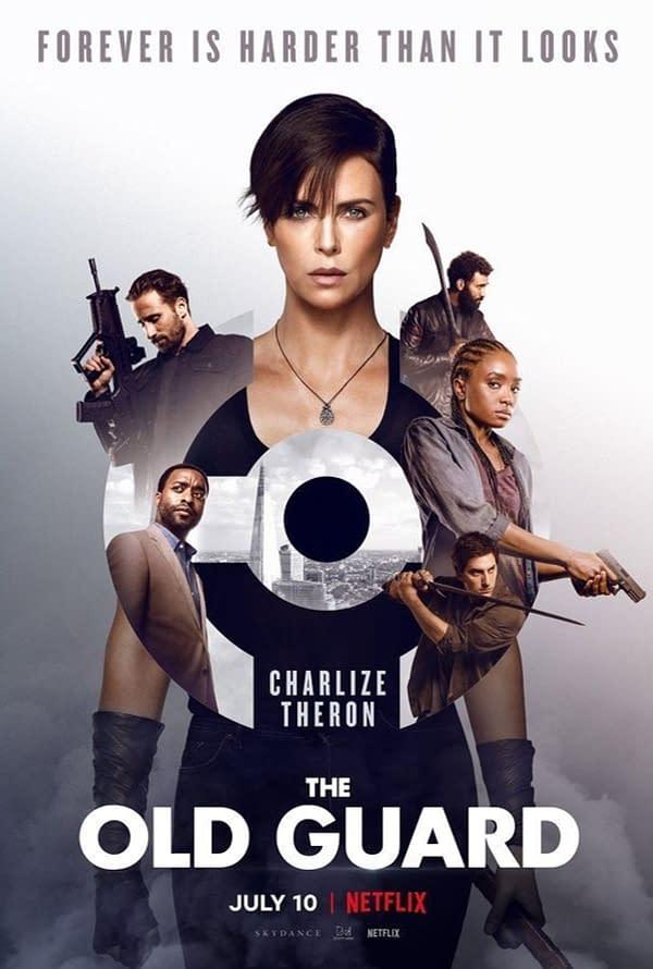 Netflix publie une affiche pour l'adaptation comique The Old Guard