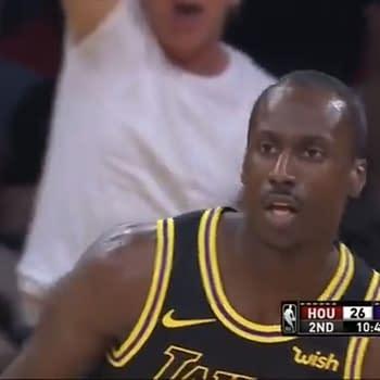 Andre Ingram Lakers Screencap 4/9/18