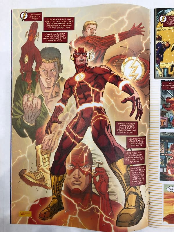 'The Flash #68': Jesse James Brings Smiles to Central City