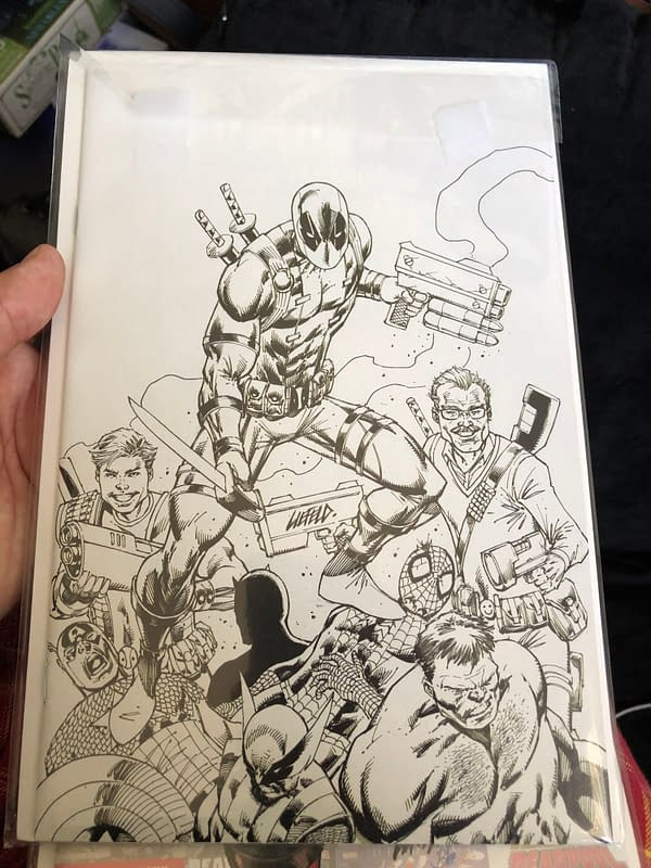 Rob Liefeld's Major X Wondercon Panel or: This Guy Never Sits Down