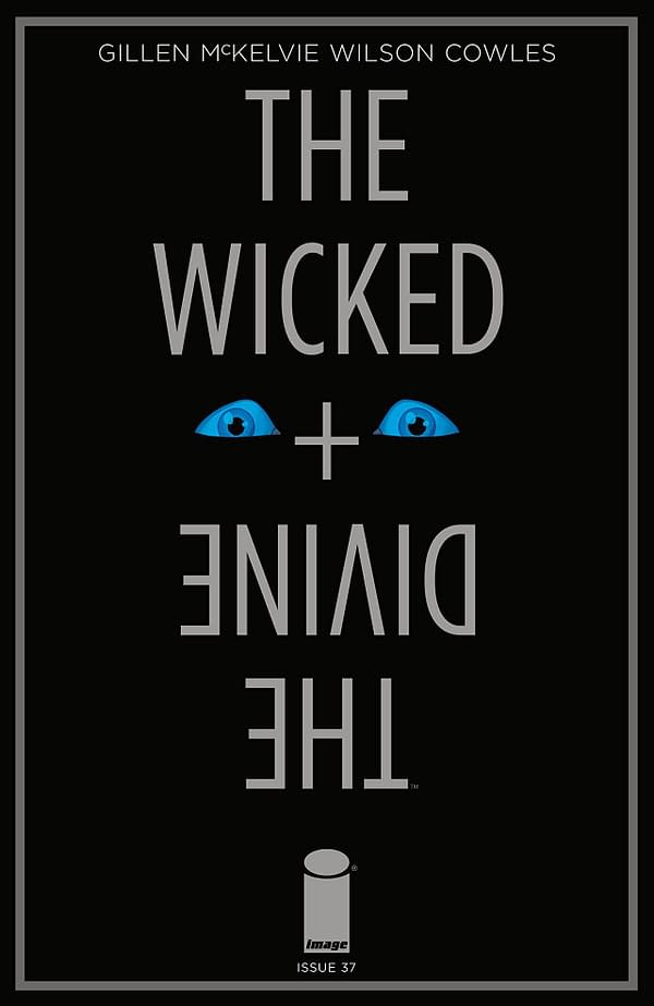 The Wicked + The Divine #37 cover by Jamie McKelvie