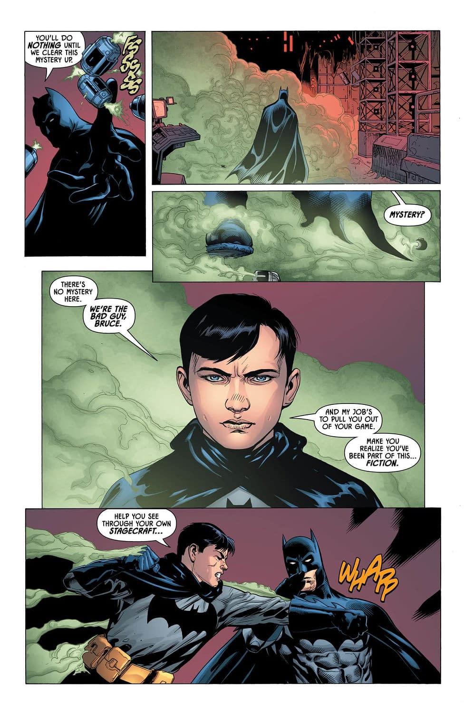 Batman Pulls a Fight Club in Wednesday's Detective Comics #999