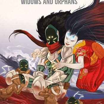 Black AF: Widows and Orphans #2 cover by Tim Smith 3 and Derwin Roberson