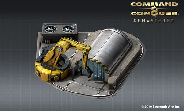 Command & Conquer Remastered Shows Off New Assets