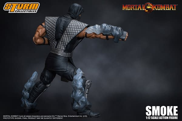 NYCC Storm Collectibles Mortal Kombat Smoke Exclusive 6
