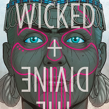 Wicked + Divine #34 cover by Jamie McKelvie and Matthew Wilson