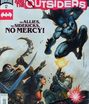 Batman & The Outsiders #12 Main Cover
