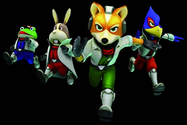 """""""God of War"""" Art Director Completes Series of """"Star Fox"""" Paintings"""
