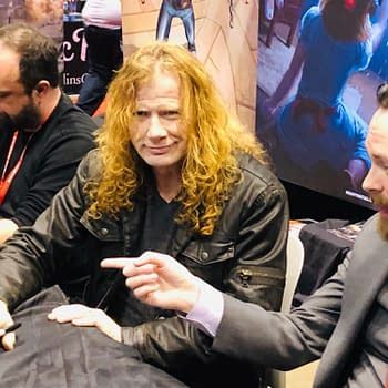 Megadeths Dave Mustaine Gets the Crowds for Heavy Metal at C2E2