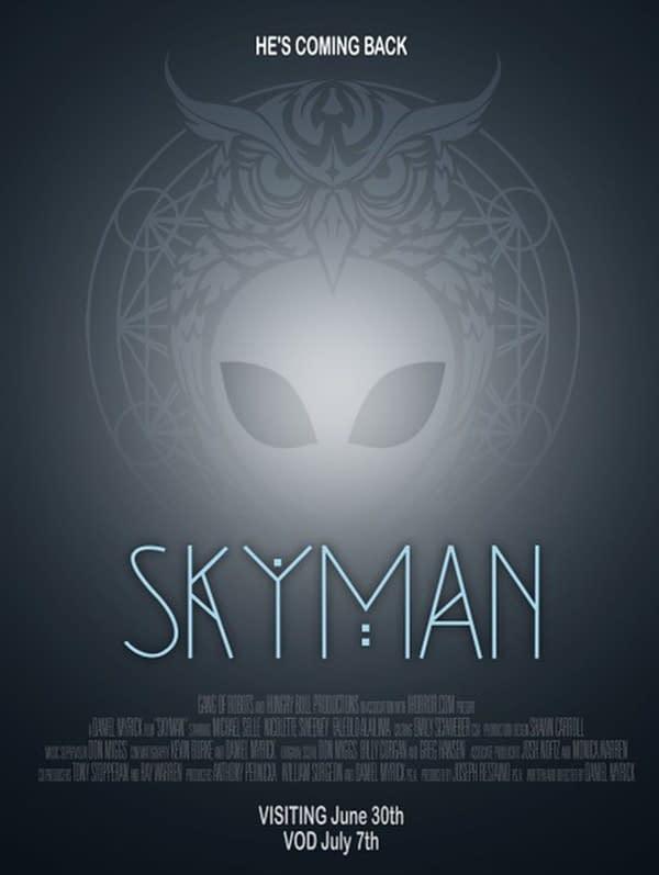 Regardez la bande-annonce de Skyman, à venir dans les ciné-parcs 30 juin, VOD 7 juillet