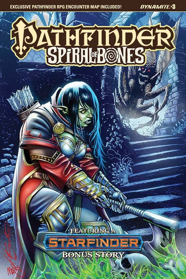 Writer's Commentary – Crystal Frasier Talks Pathfinder: Spiral of Bones #3