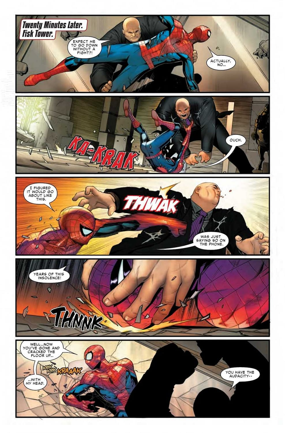 What if Your Comic Book Had a HUD? Spider-Man: City at War #1 Preview