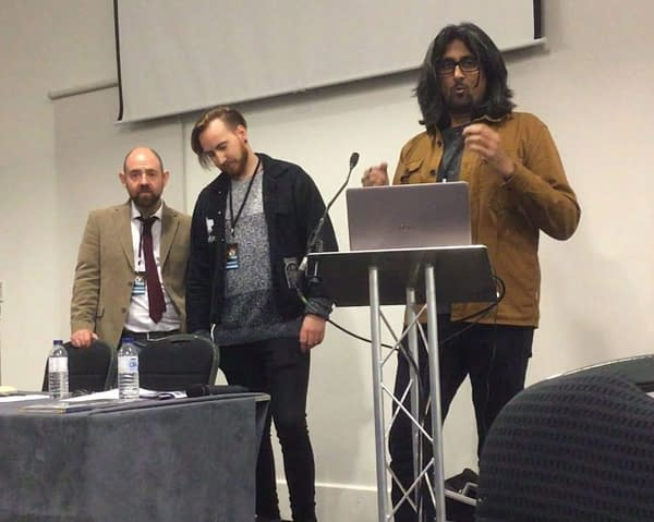 The White Noise Plans of Ram V, Dan Watters, Alex Paknadel and Ryan O'Sullivan in 2020